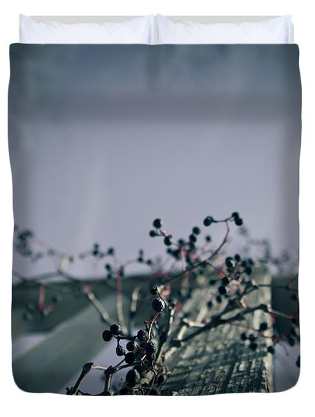 Cling To You Duvet Cover by Shane Holsclaw