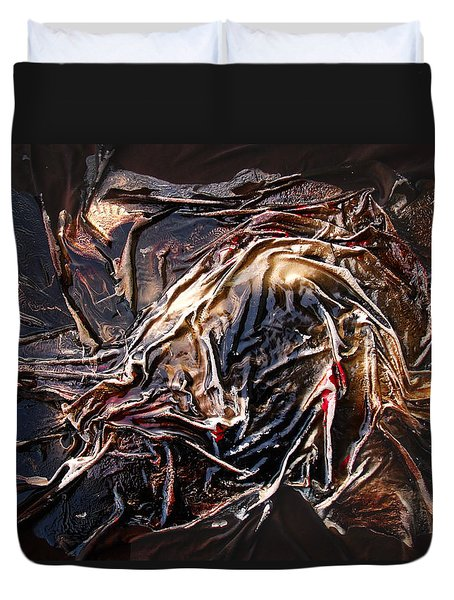 Cloaked In The Wind Duvet Cover