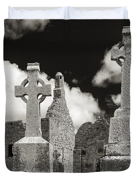 Clonmacnoise Duvet Cover by Juergen Klust