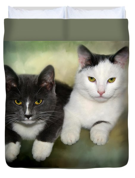 Close Friends Duvet Cover by Annie Snel