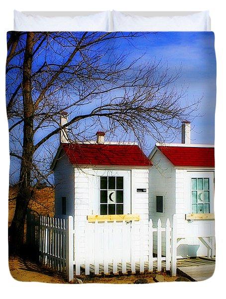 Closed For The Season Duvet Cover by Randy Pollard