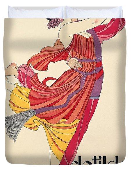 Clotilde And Alexandre Sakharoff Duvet Cover