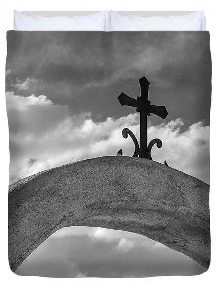 Cloud Cross Duvet Cover