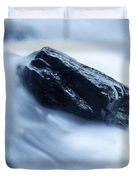 Cloud Falls Duvet Cover by Edward Fielding
