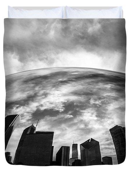 Cloud Gate Chicago Bean Duvet Cover