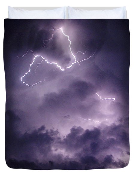 Cloud Lightning Duvet Cover