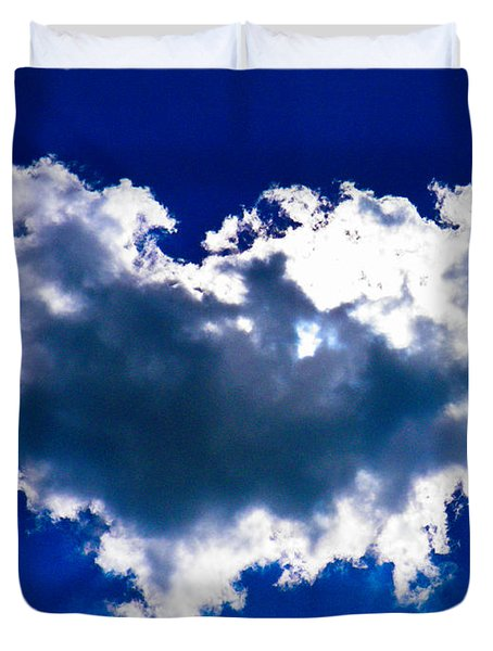 Cloud Duvet Cover by Nick Kirby