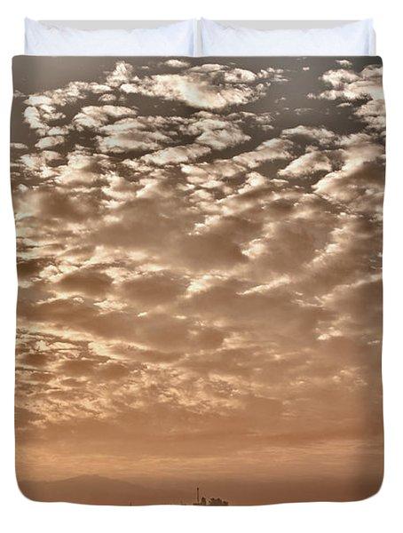 Cloud Over Kathmandu Duvet Cover