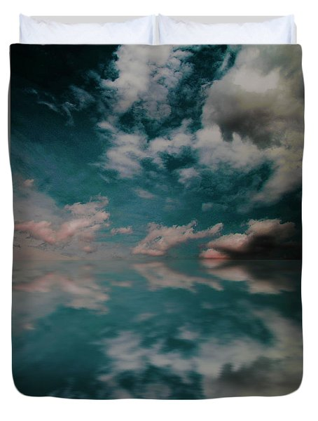Cloud Reflections Duvet Cover by John Stuart Webbstock