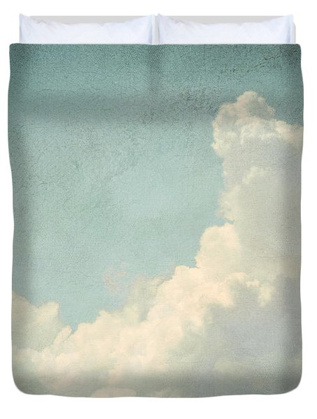 Cloud Series 4 Of 6 Duvet Cover by Brett Pfister