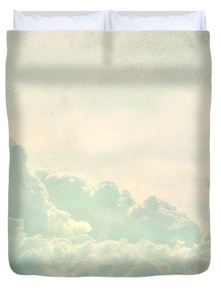 Cloud Series 5 Of 6 Duvet Cover by Brett Pfister