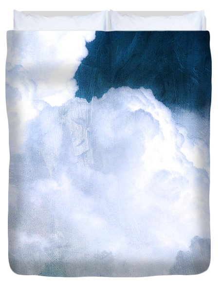 Clouds And Ice Duvet Cover