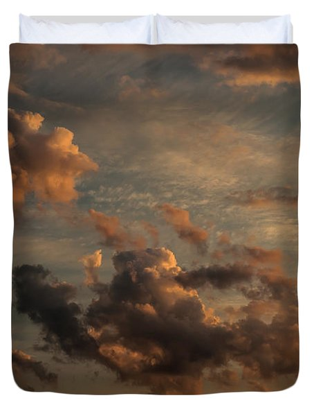 Clouds For Rembrandt Duvet Cover