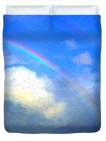 Clouds In Ireland Duvet Cover