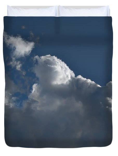 Duvet Cover featuring the photograph Clouds Oct  2 2014 by Leif Sohlman