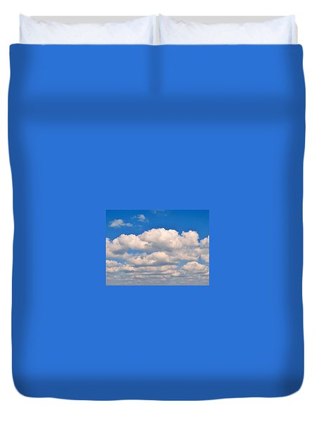 Clouds Over Lake Pontchartrain Duvet Cover