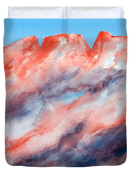 Clouds Roll In Duvet Cover