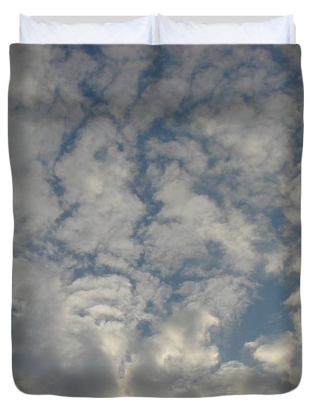 Clouds Two Duvet Cover