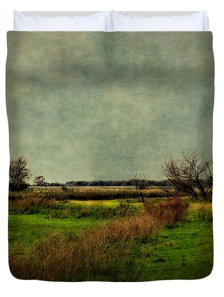 Cloudy Day Duvet Cover by Annie Snel