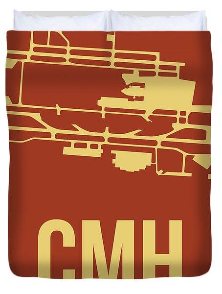 Cmh Columbus Airport Poster 1 Duvet Cover