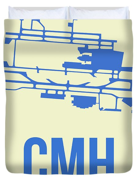 Cmh Columbus Airport Poster 2 Duvet Cover