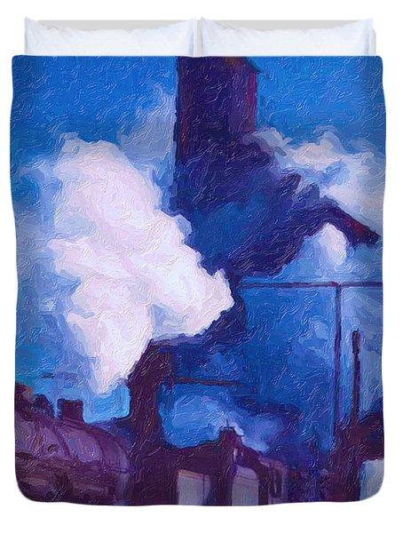 Coal Station Duvet Cover