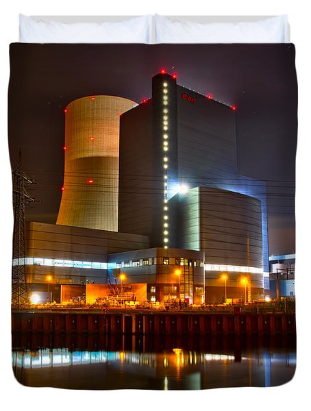 Coal Fired Powerhouse Duvet Cover