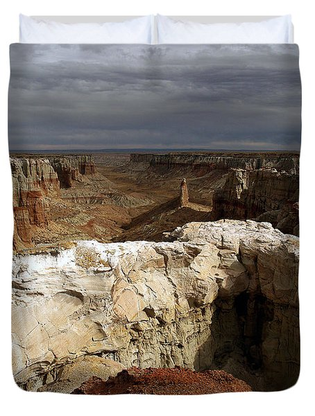 Duvet Cover featuring the photograph Coal Mine Mesa 08 by Jeff Brunton