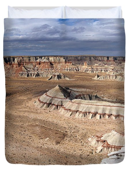 Coal Mine Mesa 11 Duvet Cover by Jeff Brunton