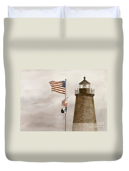 Coast Guard Duvet Cover
