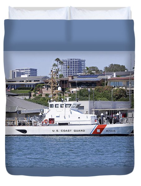 Coast Guard Duvet Cover by Shoal Hollingsworth