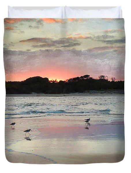 Coastal Beauty Duvet Cover by Betty LaRue