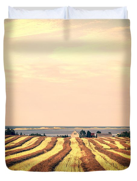 Coastal Farm Pei Duvet Cover by Edward Fielding