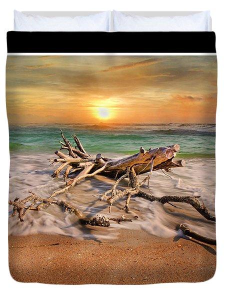 Coastal Morning  Duvet Cover