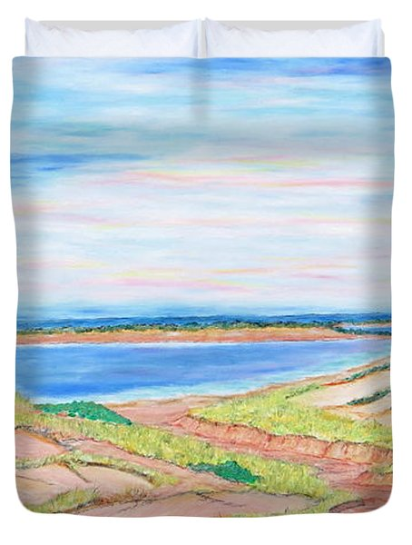 Coastal Patchwork Duvet Cover