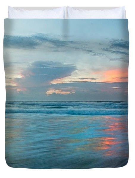 Coastal Shift Duvet Cover