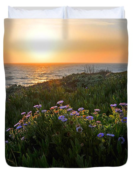 Coastal Sunset Duvet Cover by Lynn Bauer