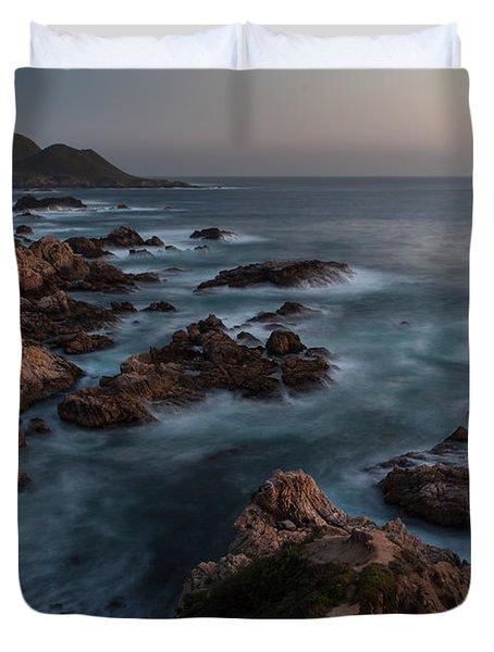 Coastal Tranquility Duvet Cover