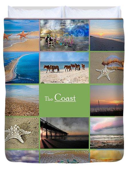 Coastal Winds Duvet Cover
