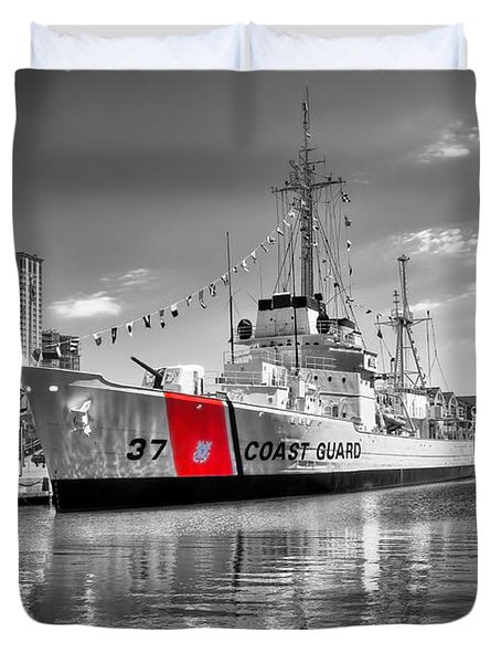 Coastguard Cutter Duvet Cover