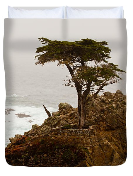 Coastline Cypress Duvet Cover