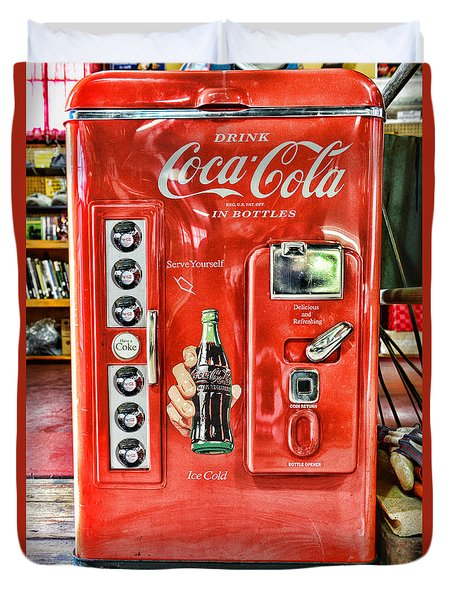 Coca-cola Retro Style Duvet Cover