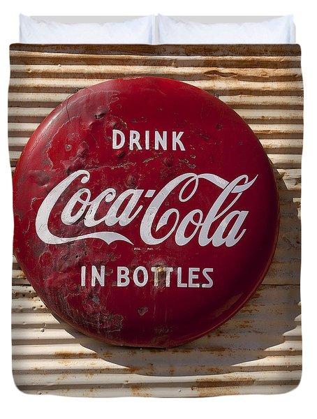 Coca Cola Sign   #0636 Duvet Cover