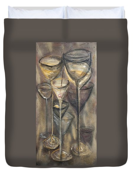 Nine Glasses Duvet Cover