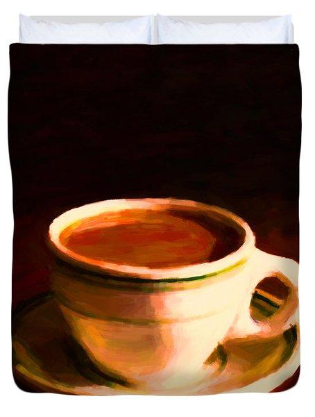 Coffee Break 20130717 Duvet Cover
