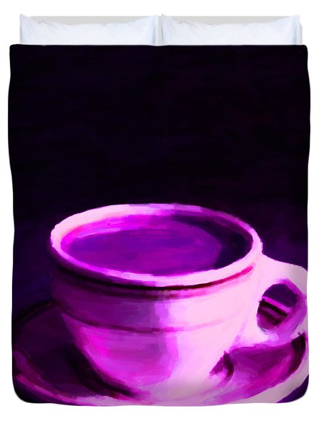 Coffee Break 20130717m88 Duvet Cover