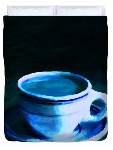 Coffee Break 20130717p180 Duvet Cover