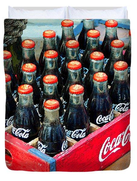 Coke Case Duvet Cover