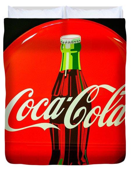 Coke Top Duvet Cover