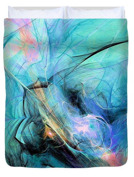 Cold Duvet Cover by Anastasiya Malakhova